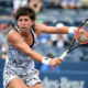 September 5, 2016 - Carla Suarez Navarro in action against Simona Halep during the 2016 US Open at the USTA Billie Jean King National Tennis Center in Flushing, NY.